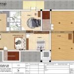 5 Bản vẽ tầng 2 biệt thự phong cách châu âu tại đức sh btp 0137