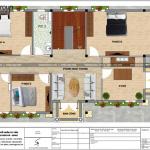 6 Bản vẽ tầng 2 biệt thự tân cổ điển pháp tại đồng nai sh btp 0138