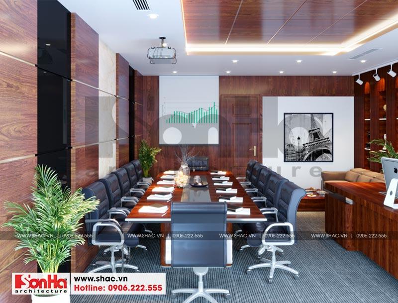 Thiết kế nội thất văn phòng làm việc kết hợp showroom tại Waterfont City (Hải Phòng) 6