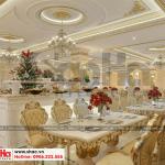 7 Thiết kế nội thất khu nhà hàng khách sạn cổ điển tại bắc ninh