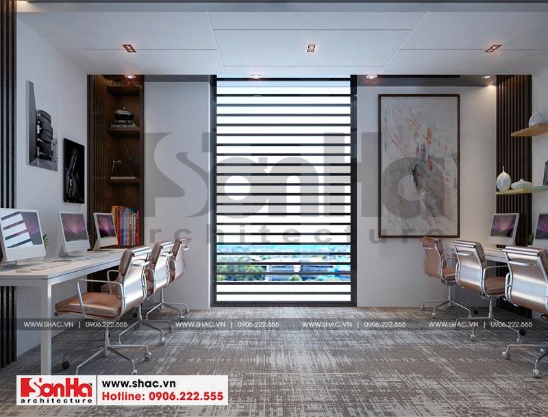 Thiết kế nội thất văn phòng làm việc kết hợp showroom tại Waterfont City (Hải Phòng) 8