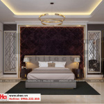 8 Mẫu nội thất phòng ngủ đẹp khách sạn 6 tầng tại bắc ninh