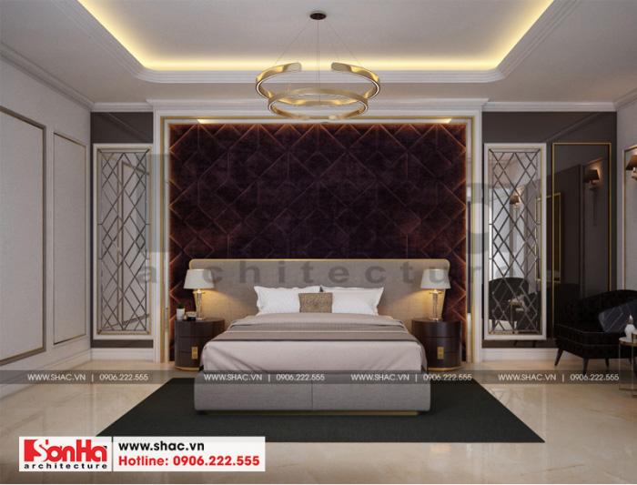 Mẫu phòng ngủ khách sạn đẹp tiêu chuẩn 3 sao được lựa chọn màu sắc ấm cúng