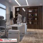 9 Thiết kế nội thất phòng phó giám đốc tại khu đô thị waterfront hải phòng wfc 005