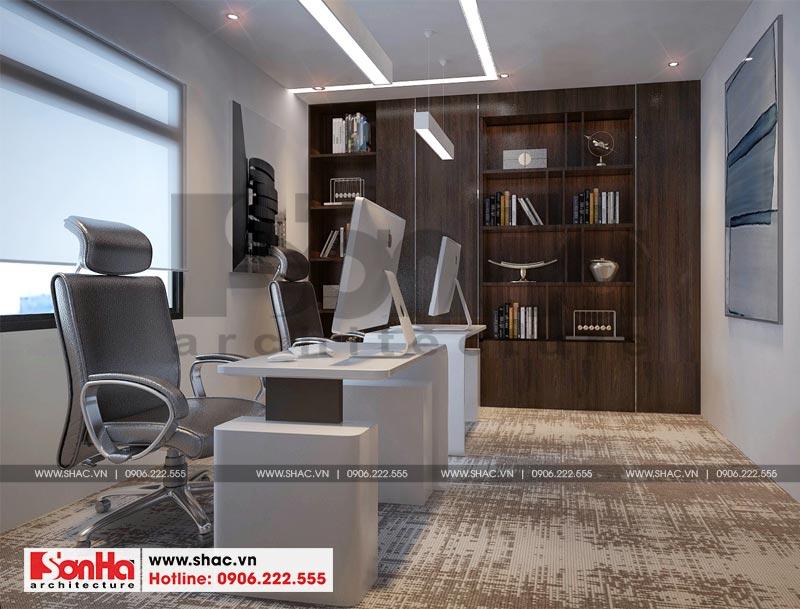 Thiết kế nội thất văn phòng làm việc kết hợp showroom tại Waterfont City (Hải Phòng) 9