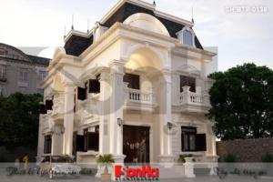 BÌA thiết kế biệt thự tân cổ điển 2 tầng mặt tiền 9,2m tại đồng nai sh btp 0138