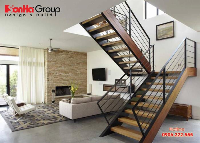 Cầu thang được thiết kế hợp phong thủy thì sẽ mang lại vượng khí tốt cho ngôi nhà