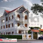 1 Thiết kế biệt thự tân cổ điển đẹp tại hải phòng sh btp 0139