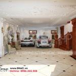15 Bố trí nội thất gara biệt thự lâu đài tại hà nội sh btld 0039