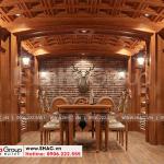 16 Thiết kế nội thất hầm rượu cao cấp tại hà nội sh btld 0039