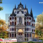 2 Mẫu biệt thự lâu đài đẹp tại hà nội sh btld 0039