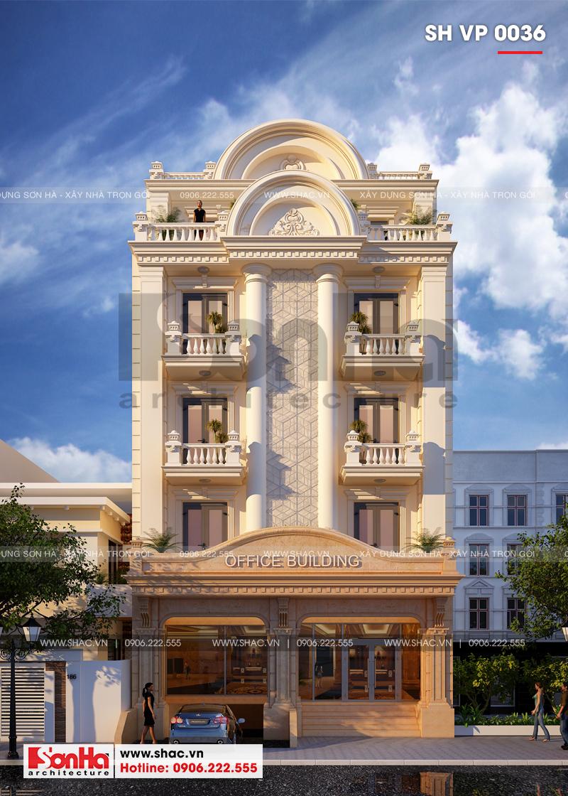Thiết kế văn phòng kết hợp cho thuê diện tích 10x18m tại Sài Gòn – SH VP 0036 1