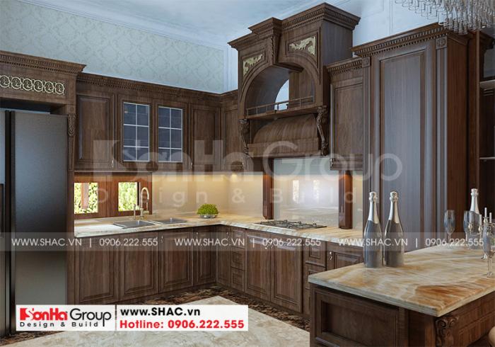 Ý tưởng thiết kế nội thất phòng bếp ăn phong cách tân cổ điển đón đầu xu hướng thịnh hành nhất