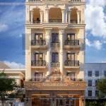 3 Thiết kế phương án 3 văn phòng kiến trúc pháp tại sài gòn sh vp 0036