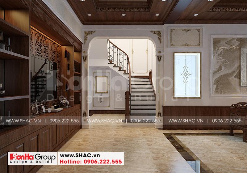 Biệt thự tân cổ điển 9x19m 3 tầng có gara ô tô tại Hải Phòng – SH BTP 0139 12