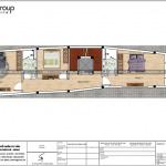 5 Bản vẽ tầng 2 nhà ống tân cổ điển đẹp tại hải phòng sh nop 0190
