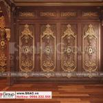 5 Bố trí nội thất phòng thay đồ biệt thự lâu đài tại hà nội sh btld 0039
