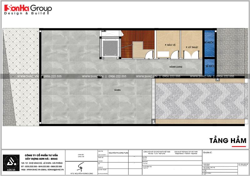 Thiết kế văn phòng kết hợp cho thuê diện tích 10x18m tại Sài Gòn – SH VP 0036 4