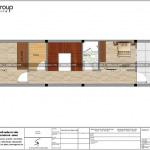 6 Mặt bằng công năng tầng 3 nhà ống kiểu pháp mặt tiền 4m tại hải phòng sh nop 0189