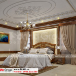 6 Thiết kế nội thất phòng ngủ 2 biệt thự tân cổ điển có sân vườn tại hải phòng sh btp 0139