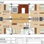 7 Mặt bằng lầu 1 văn phòng kết hợp căn hộ cho thuê tại sài gòn sh vp 0036
