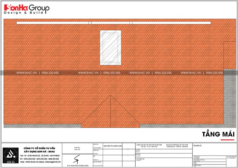 Biệt thự tân cổ điển 9x19m 3 tầng có gara ô tô tại Hải Phòng – SH BTP 0139 8