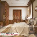 9 Cách trang trí nội thất phòng ngủ 4 biệt thự tân cổ điển 3 tầng tại hải phòng sh btp 0139