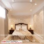 9 Trang trí nội thất phòng ngủ giúp việc kiểu cổ điển tại hà nội sh btld 0039