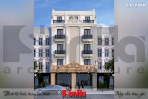 BÌA mẫu văn phòng kết hợp căn hộ cho thuê 5 tầng đẹp tại sài gòn sh vp 0036