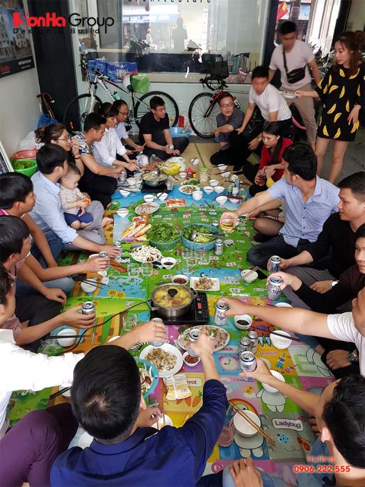 Gặp mặt đầu xuân là hoạt động thường niên của CBNV Sơn Hà Group