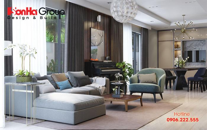 Kết hợp mua đồ nội thất bán sẵn và đặt đóng theo thiết kế cũng là giải pháp