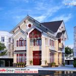 1 Thiết kế biệt thự mái thái kiểu hiện đại đẹp sh btd 0073