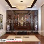 12 Hình ảnh nội thất phòng thờ đẹp biệt thự khu đô thị vinhomes imperia vhi 0004