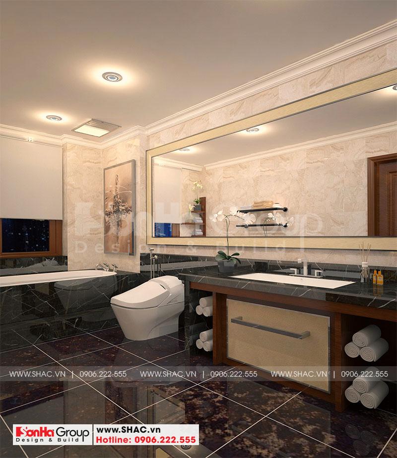 Thiết kế nội thất biệt thự Vinhomes Imperia diện tích 7,8x14,5m phân khu Paris 14