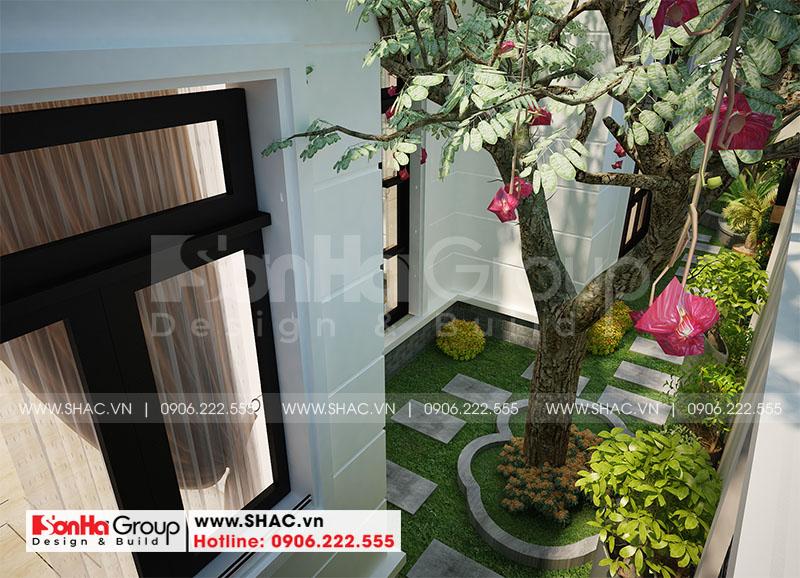 Thiết kế nội thất biệt thự Vinhomes Imperia diện tích 7,8x14,5m phân khu Paris 15
