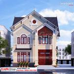 2 Mẫu biệt thự hiện đại 2 tầng đẹp sh btd 0073