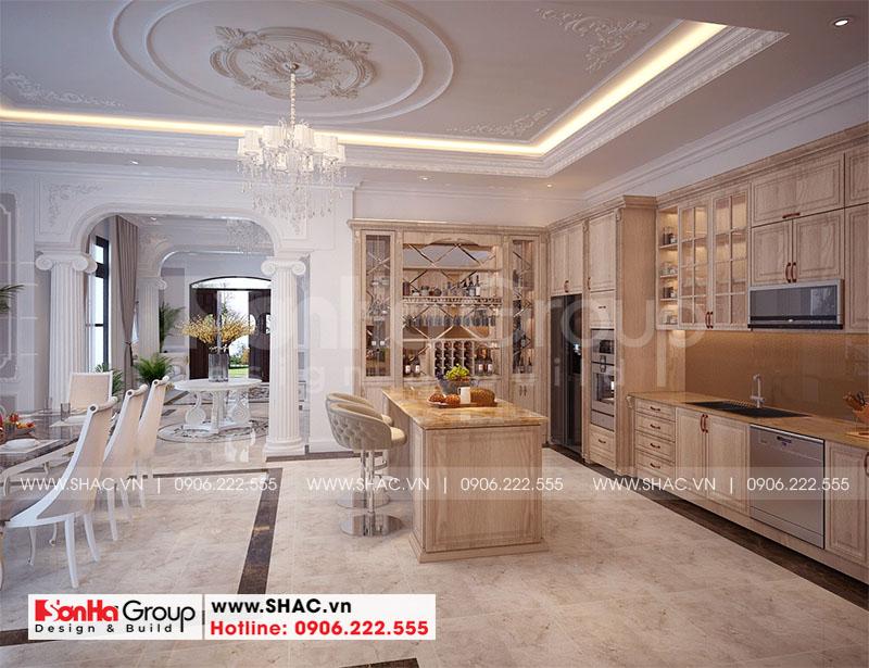 Thiết kế nội thất biệt thự Vinhomes Imperia diện tích 7,8x14,5m phân khu Paris 2