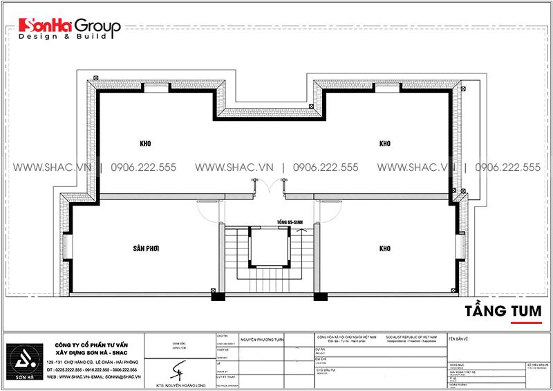 Thiết kế nội thất biệt thự Vinhomes Imperia diện tích 7,8x14,5m phân khu Paris 20