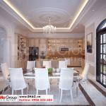 3 Không gian nội thất phòng bếp ăn sang trọng biệt thự vinhomes imperial vhi 0004