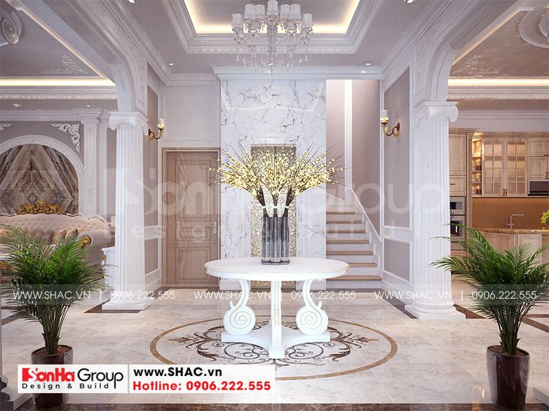 Thiết kế nội thất biệt thự Vinhomes Imperia diện tích 7,8x14,5m phân khu Paris 4