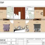 5 Bản vẽ tầng 2 nhà ống hiện đại 4 phòng ngủ tại bắc ninh sh nod 0201