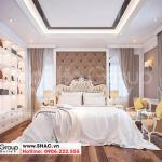 5 Hình ảnh phòng ngủ kiểu tân cổ điển biệt thự khu đô thị vinhomes imperial vhi 0004