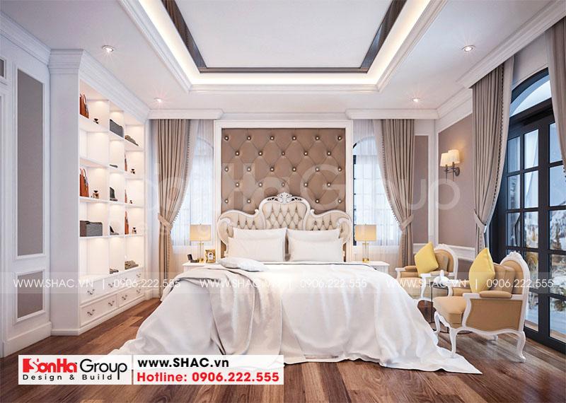 Thiết kế nội thất biệt thự Vinhomes Imperia diện tích 7,8x14,5m phân khu Paris 5