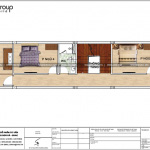 5 Mặt bằng công năng tầng 3 nhà ống tân cổ điển 4 phòng ngủ tại hải phòng sh nop 0191
