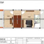 5 Mặt bằng tầng 3 nhà ống hiện đại 4 phòng ngủ tại hải phòng sh nod 0200
