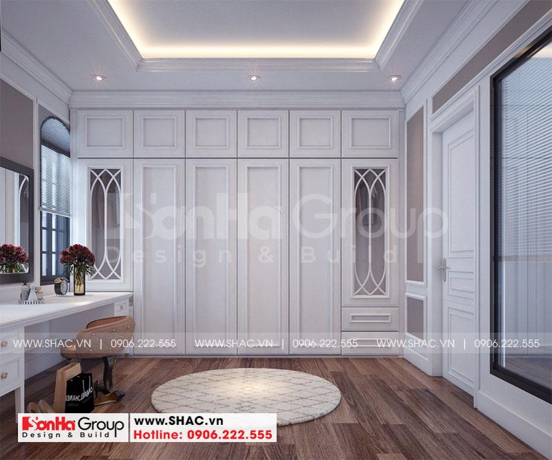 Thiết kế nội thất biệt thự Vinhomes Imperia diện tích 7,8x14,5m phân khu Paris 6