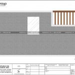 7 Bản vẽ tầng mái nhà ống phong cách hiện đại tại bắc ninh sh nod 0201