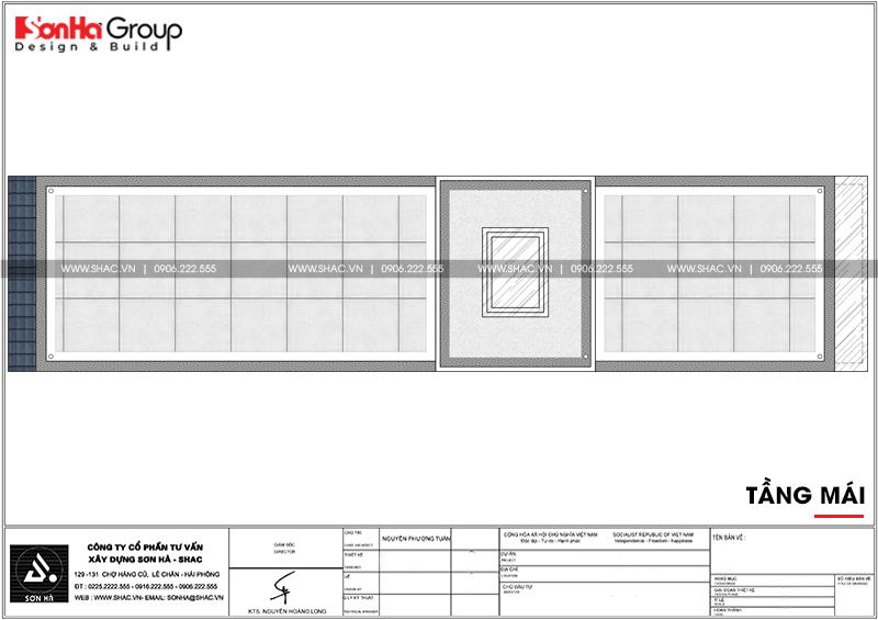 Mẫu nhà ống tân cổ điển 3 tầng diện tích 4,2x17,3m tại Hải Phòng – SH NOP 0191 7