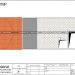 7 Mặt bằng tầng mái nhà ống phong cách hiện đại đẹp tại hải phòng sh nod 0200