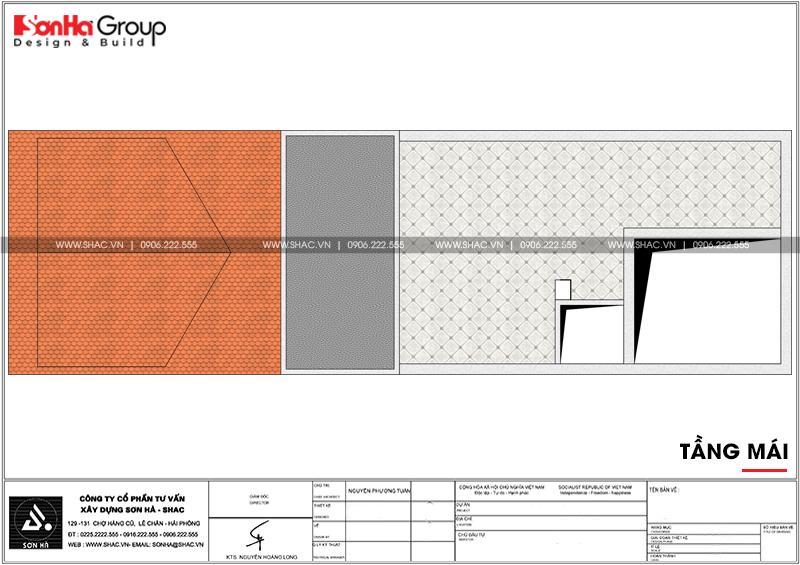 Mẫu nhà ống 3 tầng hiện đại diện tích 5x15m tại Hải Phòng – SH NOD 0200 7